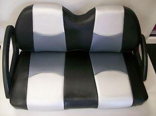 Yamaha G14 G22 Golf Cart Rear Flip Seat & Seat Cover Combo Pkg(Frnt