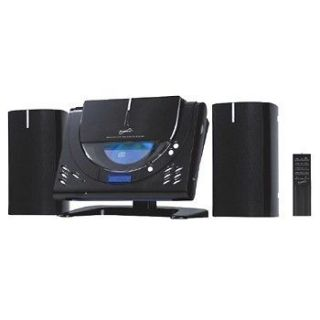 SUPERSONIC CD PLAYER WALL MOUNTABLE HOME STEREO SYSTEM  AM/FM RADIO