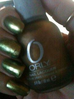 metallic gold nail polish in Nail Polish