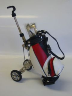 Golf Pens in Golf Bag/Buggy Pen Holder in Gift Box