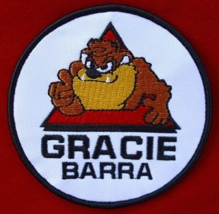 GRACIE BARRA TAZ BRAZILIAN JIU JITSU BJJ MMA UFC PATCH