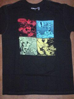 Mens Disney Mickey Mouse Donald Duck Goofy Pluto Classic T Shirt New