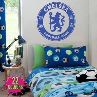 Chelsea badge   Wall Decal Art Stickers football sport bedroom nursery