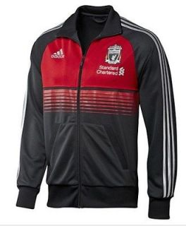 Adidas Liverpool ANTHEM Soccer Track Football Club FC Jacket Anfield