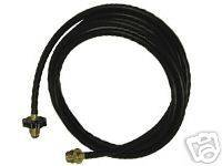 Grill Pro Adapter Propane Hose 1 lb. to 20 lbs 4 Long 80004 Portable