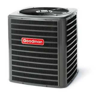 GOODMAN 13 SEER CENTRAL AIR CONDITIONER 5 TON   Nitrogen Charged R22