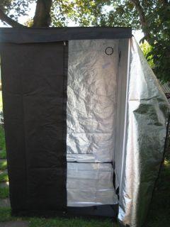 Mylar Hydroponics Grow Tent 48x48x78. Grow Budd Box.