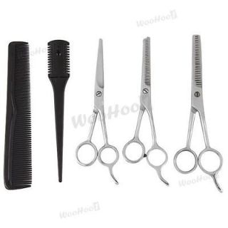 Salon Barber Hairdressing Hair Cutting Thining Shears Scissors Comb
