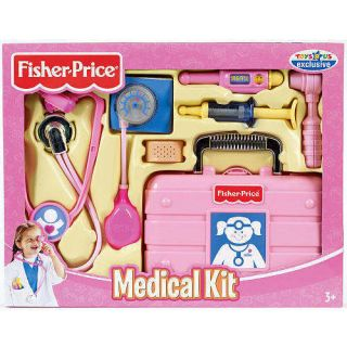 Fisher Price Medical Doctor Nurse Kit Pink Exclusive Girls NEW
