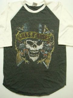 Guns n Roses (vintage,tour,concert,crew,rare) shirt in Clothing, Shoes
