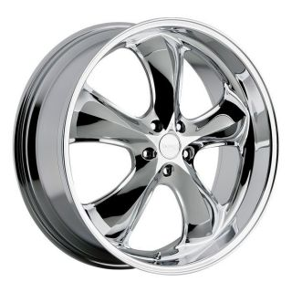 22 inch Incubus Shylock chrome wheels rims 5x115 +15 Dodge Charger
