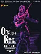 Ozzy Osbourne Randy Rhoads Tribute Guitar Tab Book NEW