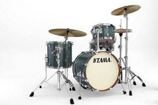 Tama Silverstar 4pc Jazz, 18 Bass Drum Set, Sky Blue Sparkle, New VID