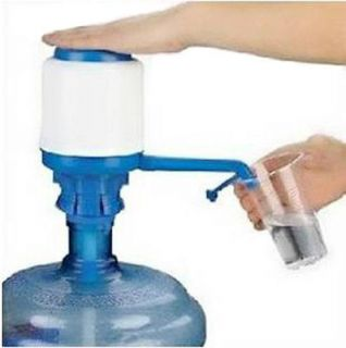 New Drinking Hand Press Pump for Bottled Water Dispenser Easy Pumping