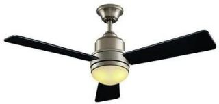 Hampton Bay Trieste 52 inch Ceiling Fan with Light Kit & Remote