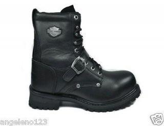 HARLEY DAVIDSON Boots Faded Glory Steel Toe Medium Width 8 Men Size
