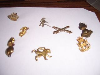 Old British ( English ) Military / Bobi Hat Pins & Bobs