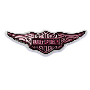 Harley Davidson Lady Pink Wings Cake Pop Top Cake Decoration Topper