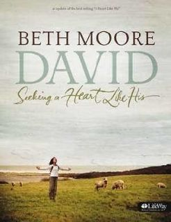 David Seeking A Heart Like His MEMBERS BOOK Bible Study By Beth Moore