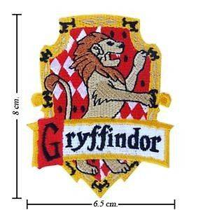 Harry Potter Crest Iron Gryffindor Patch Badge(B 3 2)