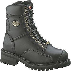 NEW WOMENS HARLEY DAVIDSON CASPER BOOTS MORTOCYCLE