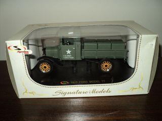 Signature Model 1923 U.S.Army Ford Model TT Truck