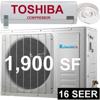 30000 BTU Ductless Split Air Conditioner Heat Pump   30,000 2.5 Ton AC