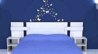 32 Butterfly Butterflies Removable Wall Decor Art Vinyl Decal Stickers
