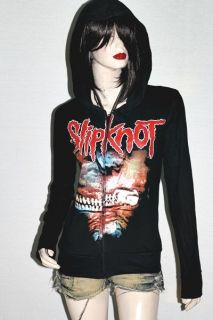 Slipknot Heavy Metal Rock DIY Slim Fit Hoodie Jacket Top Shirt