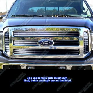 05 07 Ford F250/F350 Super Duty/Excursion Billet Grille