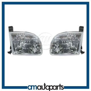 Toyota Pickup Truck Tundra Headlamps Headlights Left LH & Right RH
