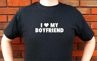 love my boyfriend shirt in Womens Clothing