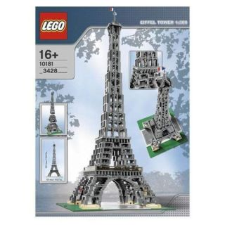 10181 EIFFEL TOWER 1300 Building Sculpture Large Model 100% COMPLETE