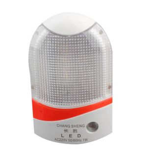Control Automatic White Sensor Energy Saving Wall LED Night Light Lamp