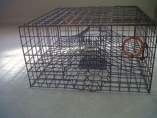 Commercial Grade Heavy Duty Crab Pot / Crab Trap with 2 Chambers!!!