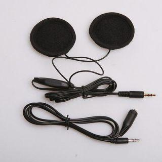 Motorcycle Sports Helmet Stereo Earphones Speakers for iPhone