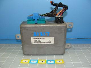99 01 Oldsmobile Bravada Transfer Case Module TCM 4WD Control 15037160