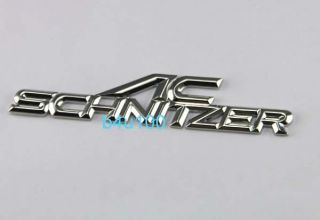 3D Metal Emblem Badge Sticker Decal Chrome Auto Car Silver BMW AC