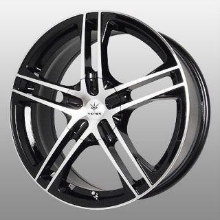 15 inch Verde Protocol Black Wheels Rims 4x4.5 Accent Elantra Sonata