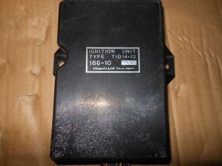 1982 Yamaha XJ650 Seca Turbo 650 Ignition CDI Box