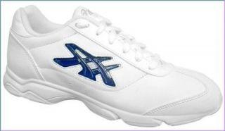 SALE Cheerleading Shoes Womans w/ color inserts Sz 12 QY665 0101
