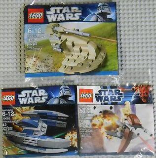 Lego Star Wars Mini Sets Droid AAT, STAP & Vulture Droid (30052