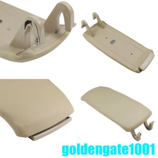 FOR 2000 2006 AUDI A6 ARMREST ARM REST ALLROAD COVER LID CONSOLE BEIGE