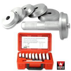 CAR TRUCK WHEEL AXLE BEARING RACE AND SEAL DRIVER DRIVE AUTO TOOL KIT