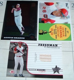 various austin kearns insert cards various prices more options austin