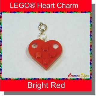 Fashion Jewelry Heart Add on Clip on Bracelet Charm   Valentines Day