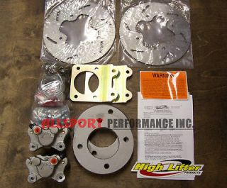 Honda ATV HIGH LIFTER Front Disc Brake Conversion Kit for 12 wheels