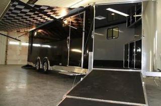 26 ALUMINUM ENCLOSED AUTO/ATV/SNOW CARGO TRAILER SCREWLESS, AWNING