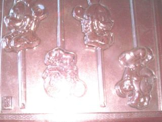 BABY MINNIE & BABY MICKEY MOUSE CHOCOLATE CANDY MOLD *