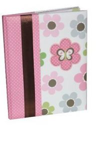 Just One You Baby s Mod Flower First Record Book/Baby Book Pink